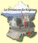 situation domaine de regusse en france : 10 km de Manosque
