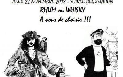 Du Rhum ou du Whisky ?