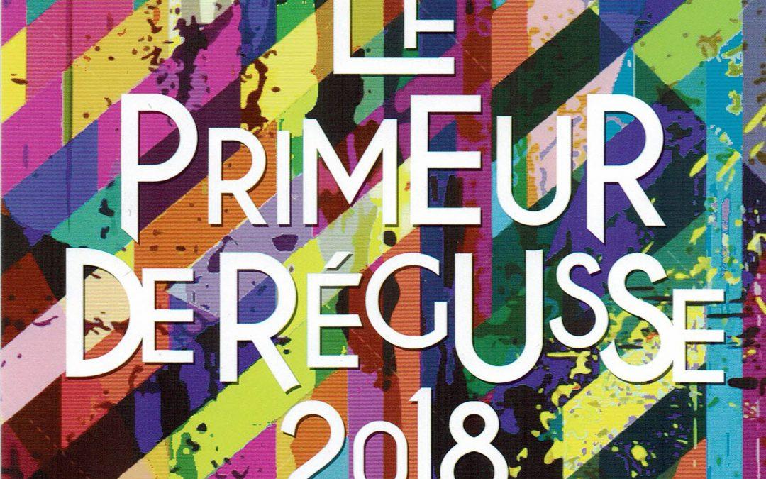 Le primeur de Régusse 2018