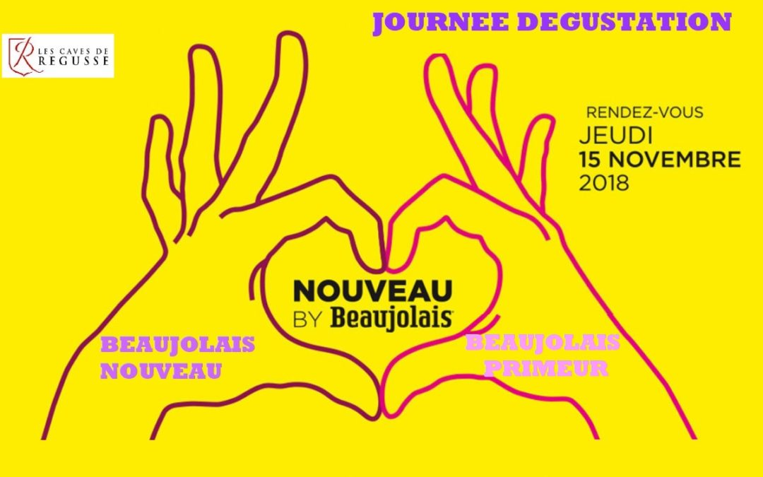 Nouveau by Beaujolais 2018 !