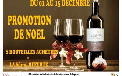 PROMOTION DE NOEL